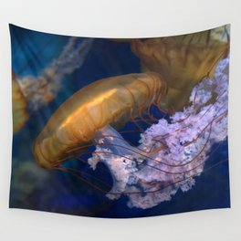 Pacific Sea Nettles Jellies Wall Tapestry
