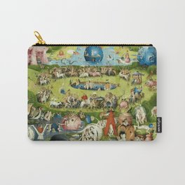 The Garden of Earthly Delights by Hieronymus Bosch Carry-All Pouch