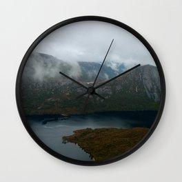 Dove Lake at Cradle Mountain Wall Clock