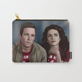 Game Day! - Sheriff Stilinski and Melissa McCall Carry-All Pouch