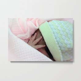 Tiny tiny fingers Metal Print