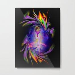 Flowermagic - good luck Metal Print
