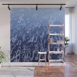 Aquatic Chords Wall Mural