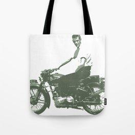 Dad on a Bike Tote Bag