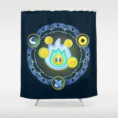 Lumina Wisp Shower Curtain