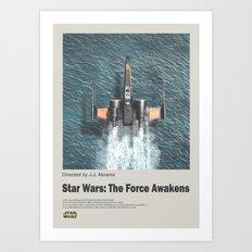 Star / Wars / Film Poster I Art Print