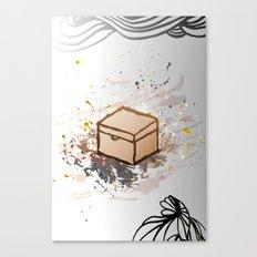 Closed. Canvas Print