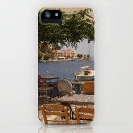 Serenity; ocean bay views iPhone Case