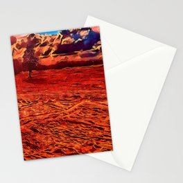 Texas Sand Box - Colored Graphic Stationery Cards