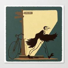 Flying Boy Canvas Print