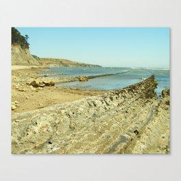 Bowling Ball Beach IX Canvas Print