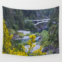 Rouge River Bridge Wall Tapestry