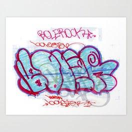 BOLER Art Print