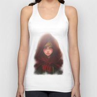 red hood Tank Tops featuring Red Hood by D'Frikki