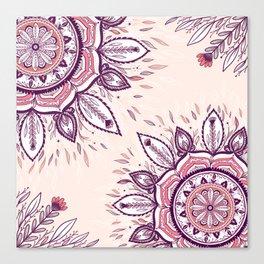 Beautiful wildflower  Canvas Print