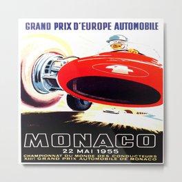Monaco Grand Prix 1955 Metal Print