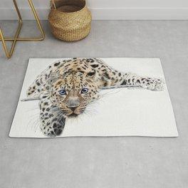 Local Eyes 'Leopard' Rug