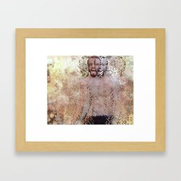 Experiment Fear Framed Art Print