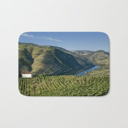 Vineyards in the Douro Valley, Portugal Bath Mat