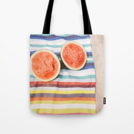Beach Watermelon Tote Bag