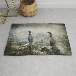 Two Cormorants Rug