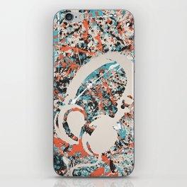 Paint Out Loud-Headphones iPhone Skin