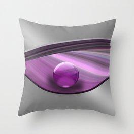 Lilac Ball  Throw Pillow