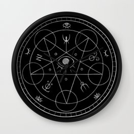 The Eye of the Witch Wall Clock