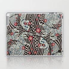 Waves of tradition Laptop & iPad Skin