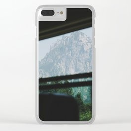 Hallstatt II Clear iPhone Case