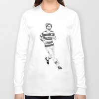 football Long Sleeve T-shirts featuring football by otp-hedgefrog