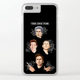 9th 10th 11th and 12th Doctor Clear iPhone Case