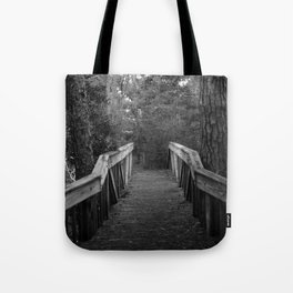 Burn a Bridge Tote Bag