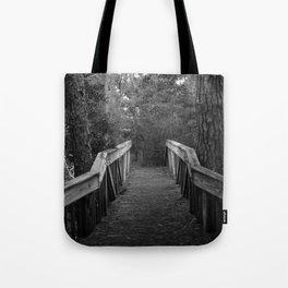 Burn a Bridge Tote Bag