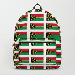 Flag of vanuatu -vanuatu,Ni-Vanuatu,Vanuatais,Vanuatuan,port vila. Backpack