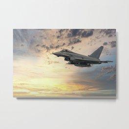 Euro Fighter Typhoon Metal Print