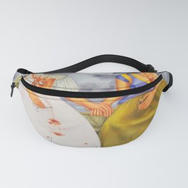 Two fridas art Fanny Pack