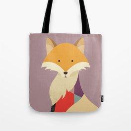 Red Fox Tote Bag