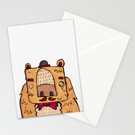 The Grizzly Gentleman Stationery Cards