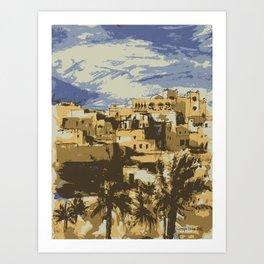 Morocco Art Print