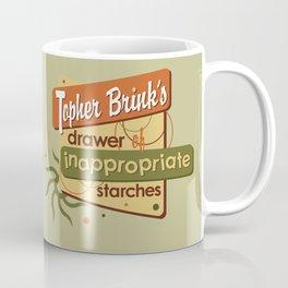 Inappropriate Starches Coffee Mug
