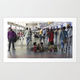 Delhi Central bambinos Art Print