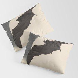 Moonlight Flying Bat Pillow Sham