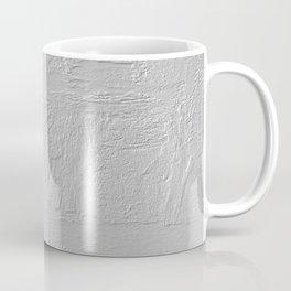 Abstract thick gray paint texture Coffee Mug