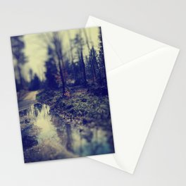In the forrest Stationery Cards