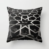 architect Throw Pillows featuring Moroccan Architect by sohailchouhan