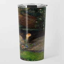 Ophelia, John Everett Millais Travel Mug