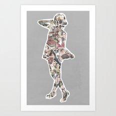 Ads Art Print