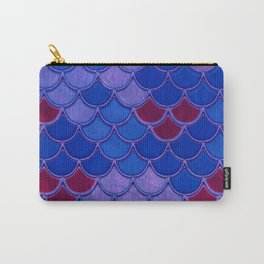 Colorful Dragon Scales Carry-All Pouch