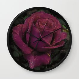 rose mullin Wall Clock